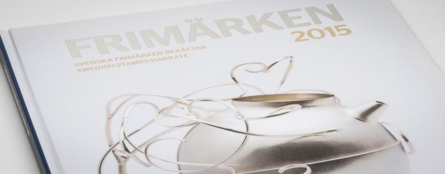 Boken Frimärken 2015, Svenska frimärken berättar