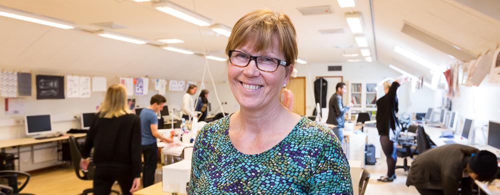 Reportagefoto på Leksands Folkhögskola